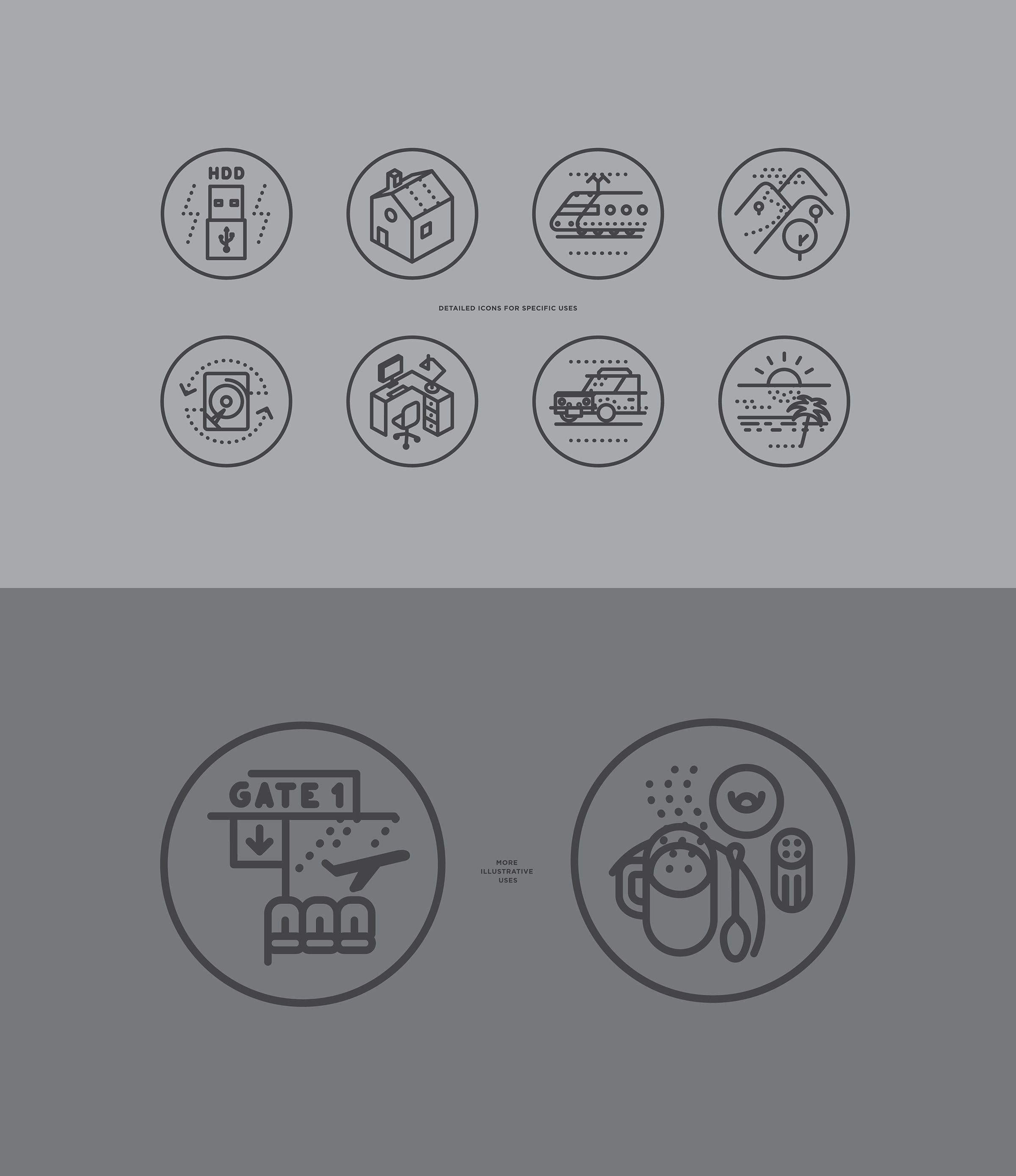 ABSOLUTE iconography on Behance
