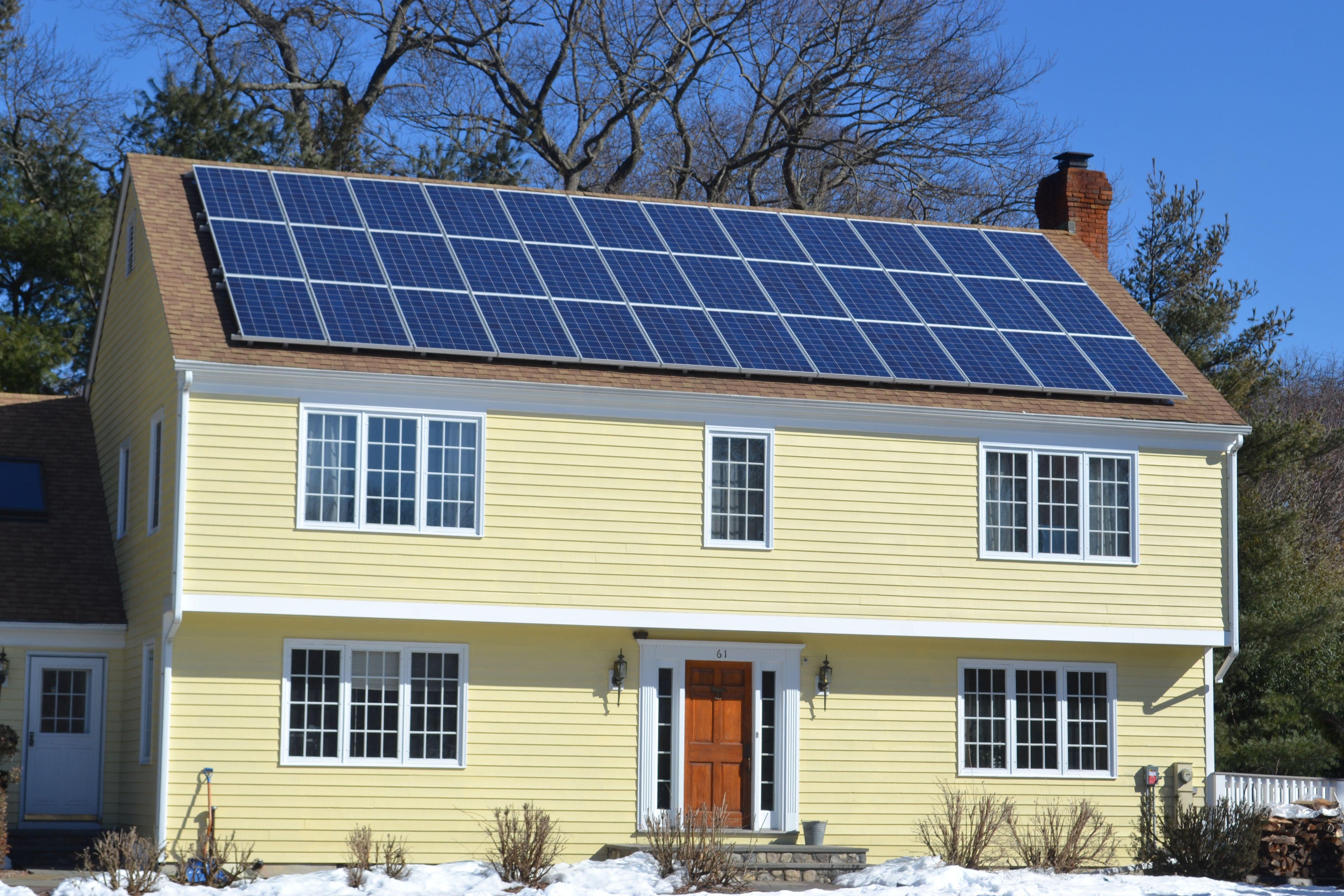 Westport, CT Roof solar panel, Outdoor decor