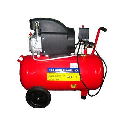 Air Compressor 50ltr 2 5hp 7 3 Cfm Electric 50 Ltr 50l 11 Gallon New With Wheel Air Compressor Compressor Ebay