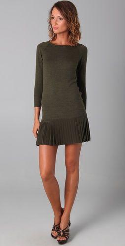 9f878cbc300 Pleated Sweater Dress | Wear Me | Dresses, Cute sweater dresses ...