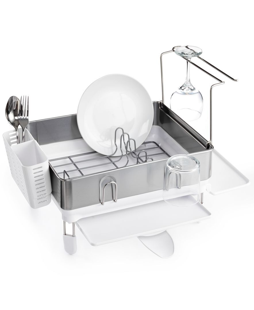 Best Simplehuman Compact Steel Frame Dish Rack Dish Racks 400 x 300