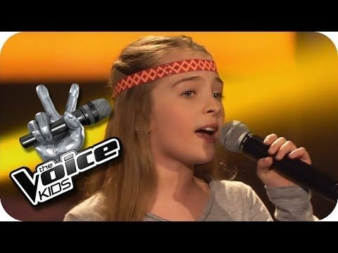 Jackson 5 I Want You Back Fabienne The Voice Kids 2013 Blind Auditions Sat 1 Youtube Want You Back The Voice Jackson 5