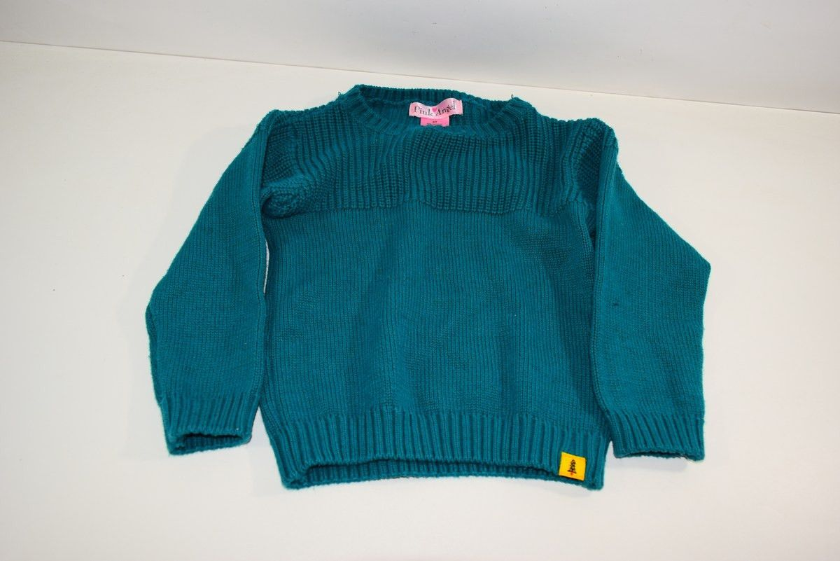 Pink Angel - Size 4T Green Sweater | Products | Pinterest | Angel ...
