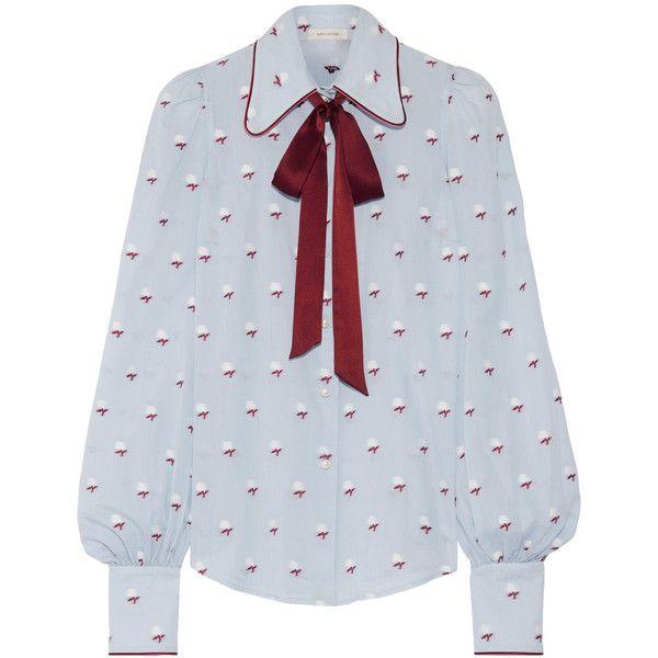 Recommend For Sale Marc Jacobs Woman Ruffled Fil Coupé Cotton -poplin Blouse White Size 8 Marc Jacobs Cheap Discount Sale Buy Cheap Store cXKtWEP