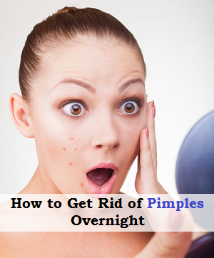 how to get rid of pimples overnight with garlic