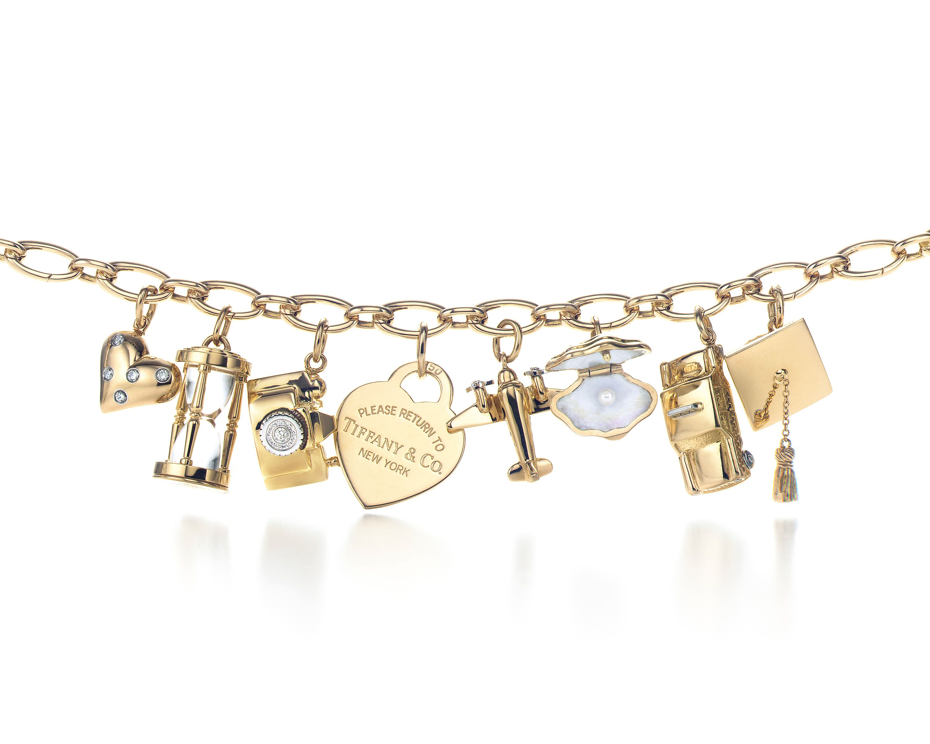 Tiffany Co Charm Bracelet In Gold If I Were To Win The Lottery