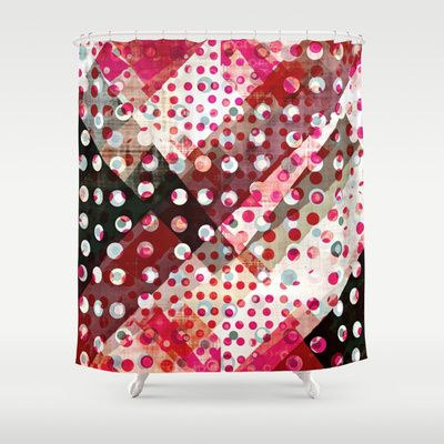 Abstract art by Amy Lighthall Shower Curtain by Amy Lighthall - $68.00