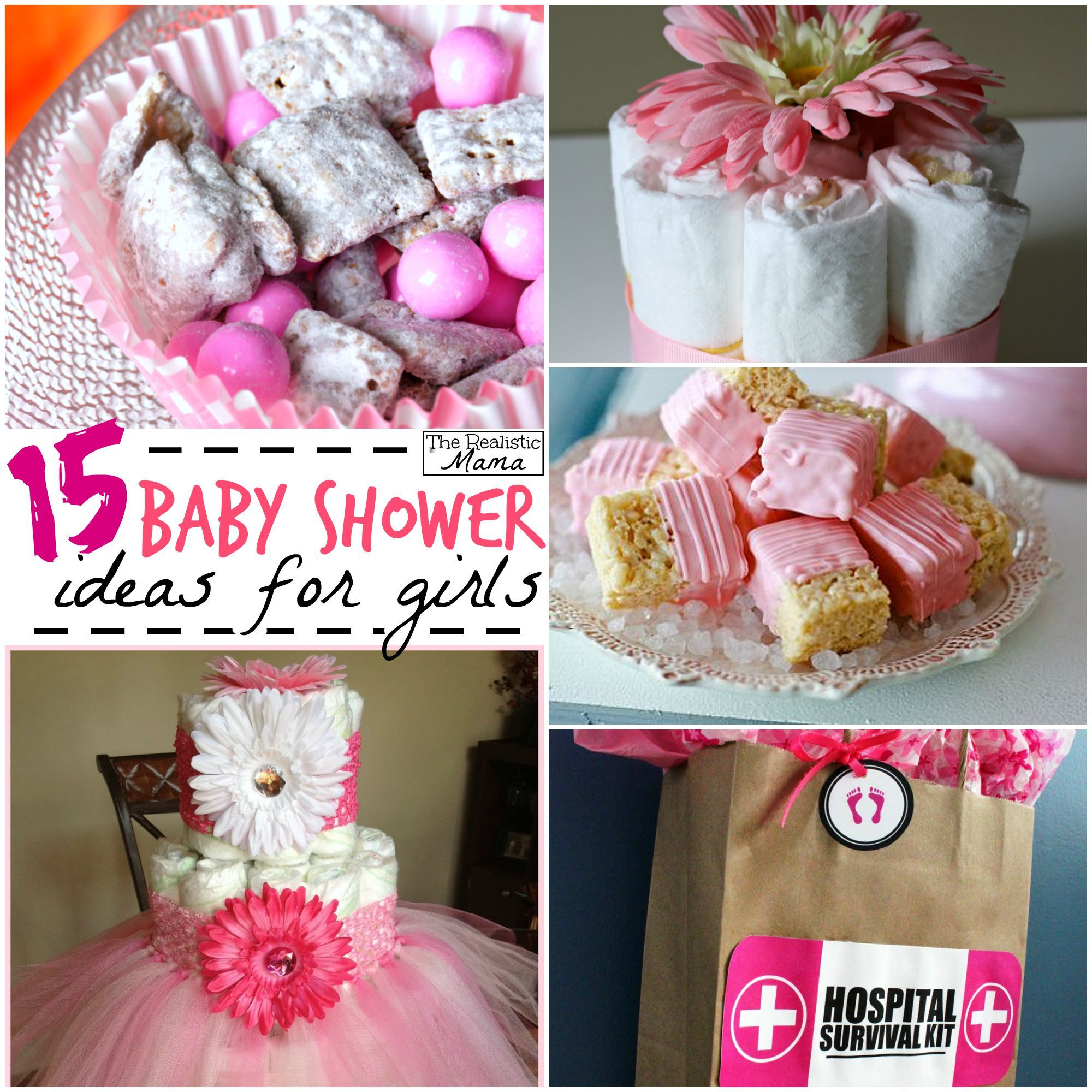 15 Baby Shower Ideas for Girls | Baby showers, Shower ideas and ...