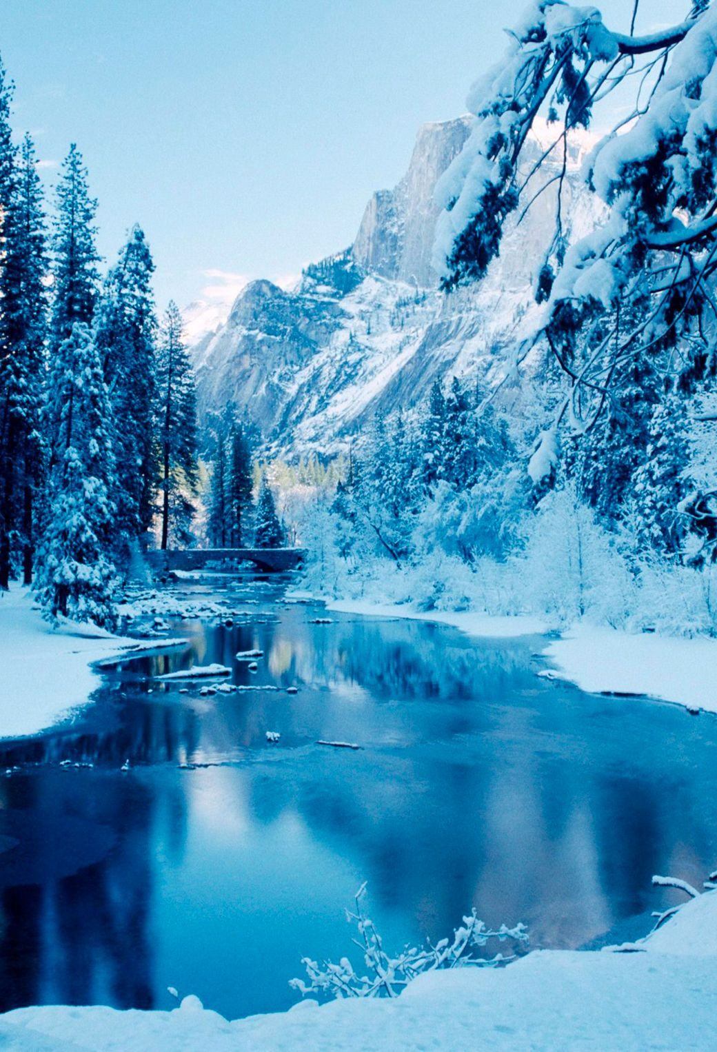 Nature Phone Wallpapers Winter Bing images Winter