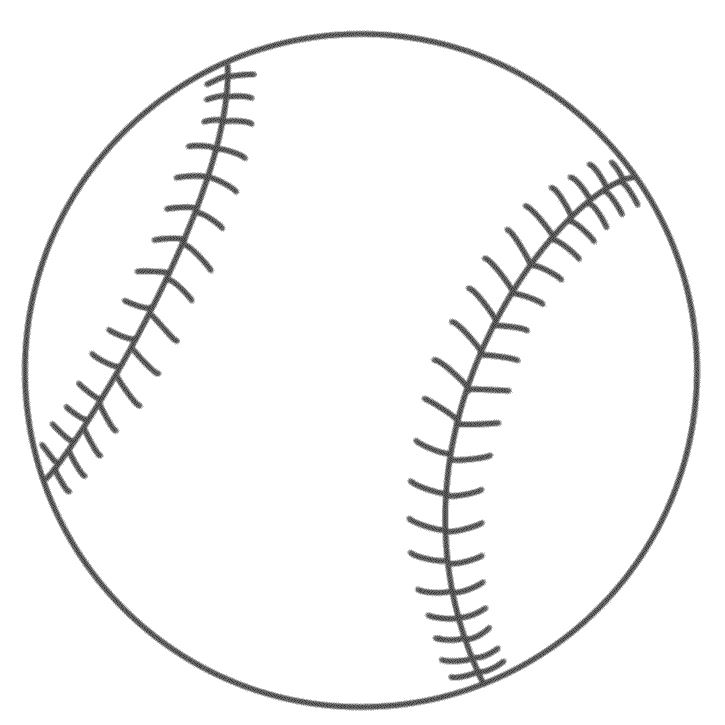 Baseball - Coloring Page (Sports) | Baseball art | Pinterest ...