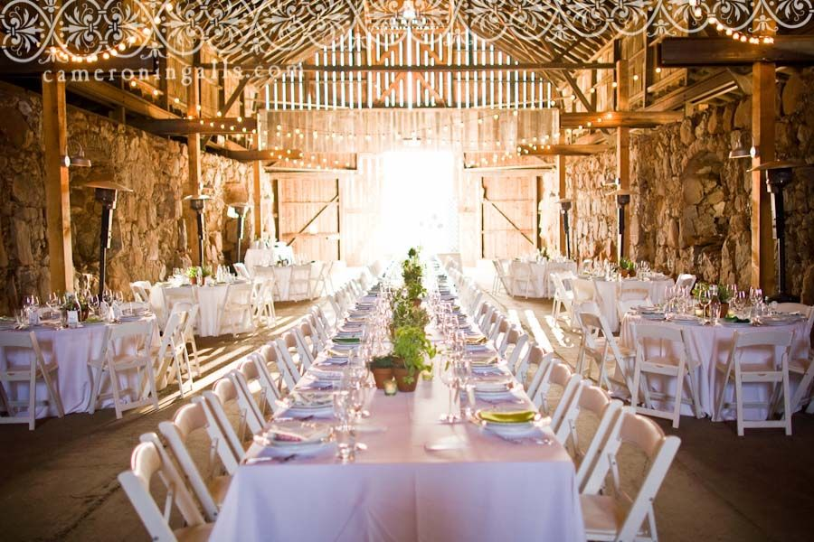 Barn Wedding Venues In California