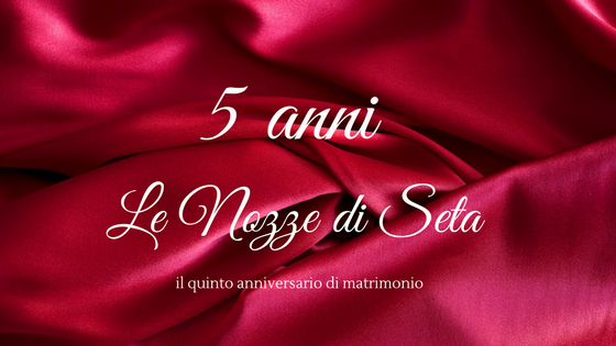 Anniversario Di Matrimonio 29 Anni.Le Nozze Di Seta Sono Per Il 5 Anniversario Di Matrimonio