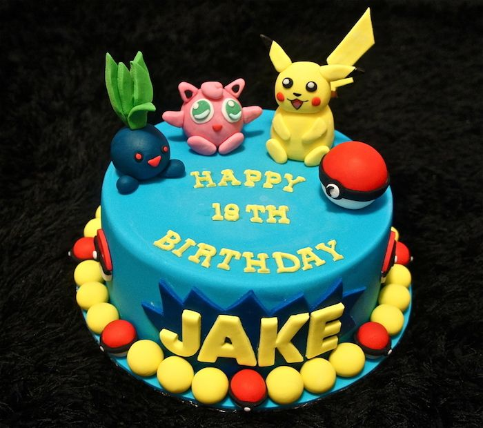 1001 Idees Pour Une Decoration Superbe Du Gateau Pokemon