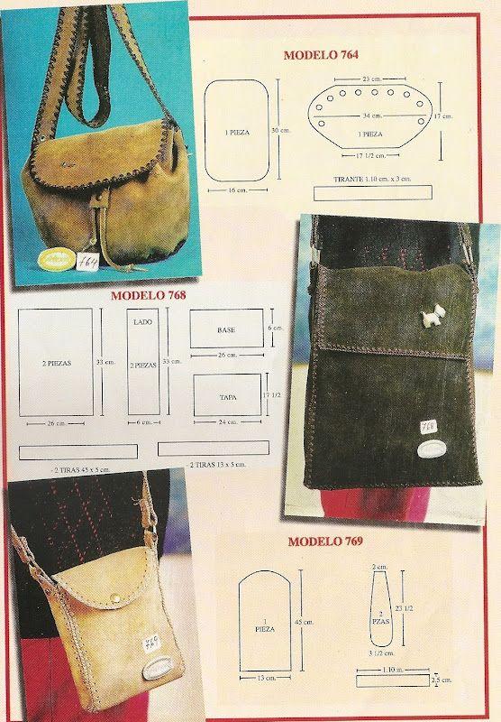 746206aab DE MIS MANOS TEJIDOS Y MAS...: Carteras y bolsos en gamuza y crochet ...