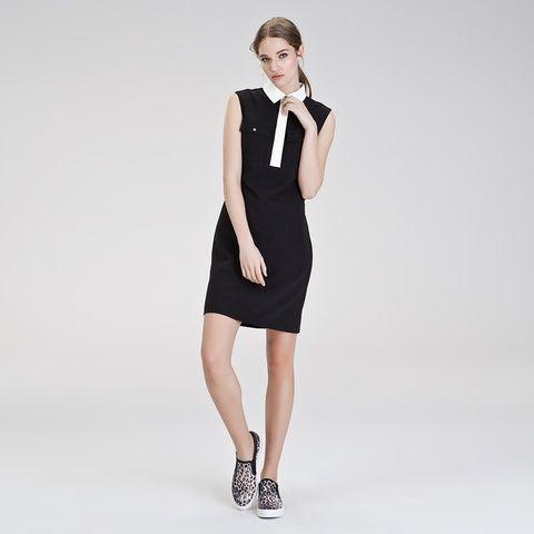 Gomlek Yaka Elbise Gomlek Yaka Siyah Elbise Siyah Elbise Siyah Kisa Elbise Moda Stilleri