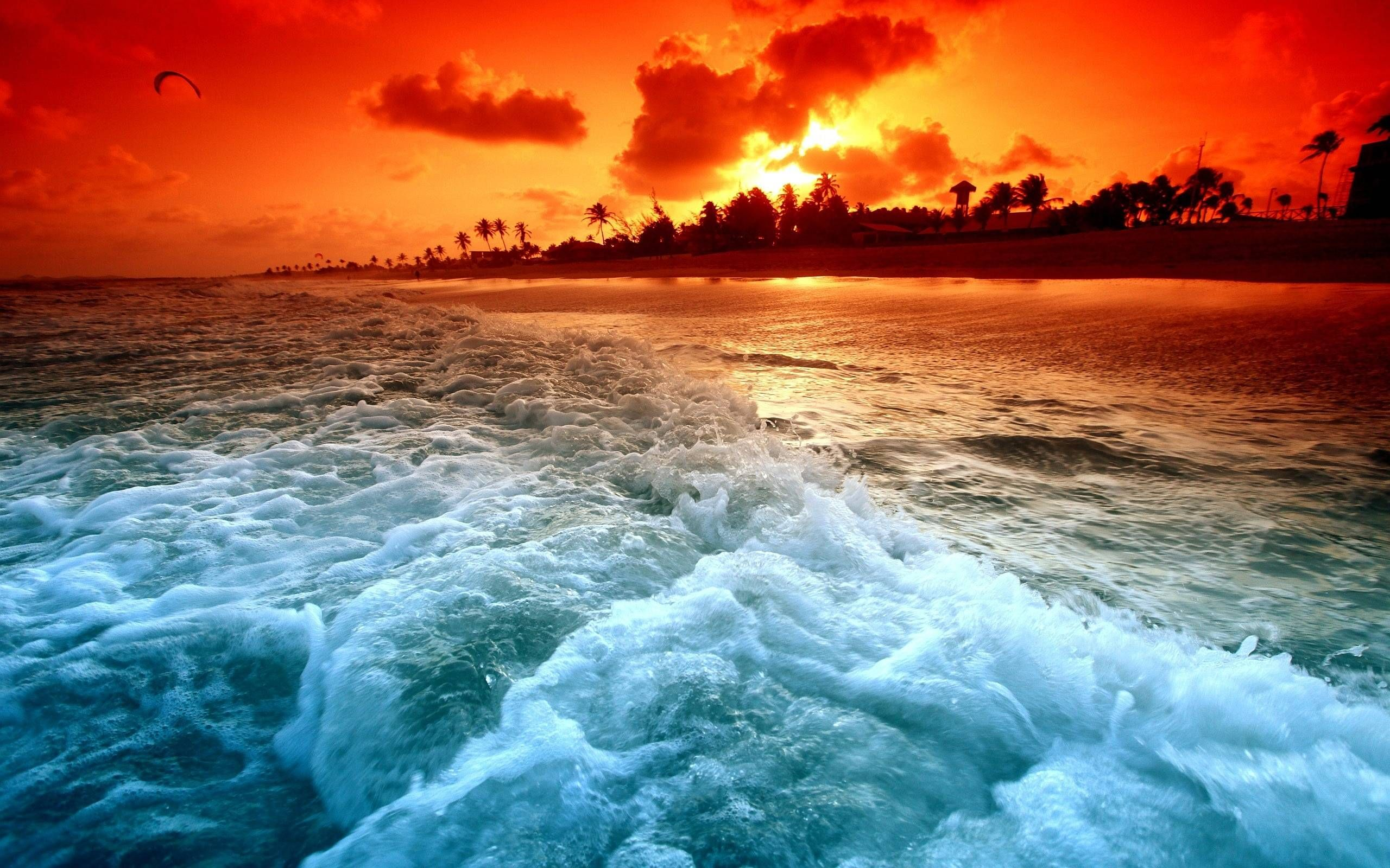 beautiful ocean sunset wallpaper for pc | full hd pictures | all