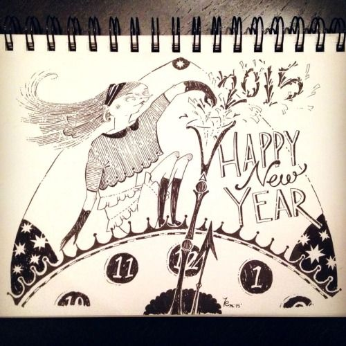 whered2014go cause saying Happy New Year to 2015 sounds crazy ...