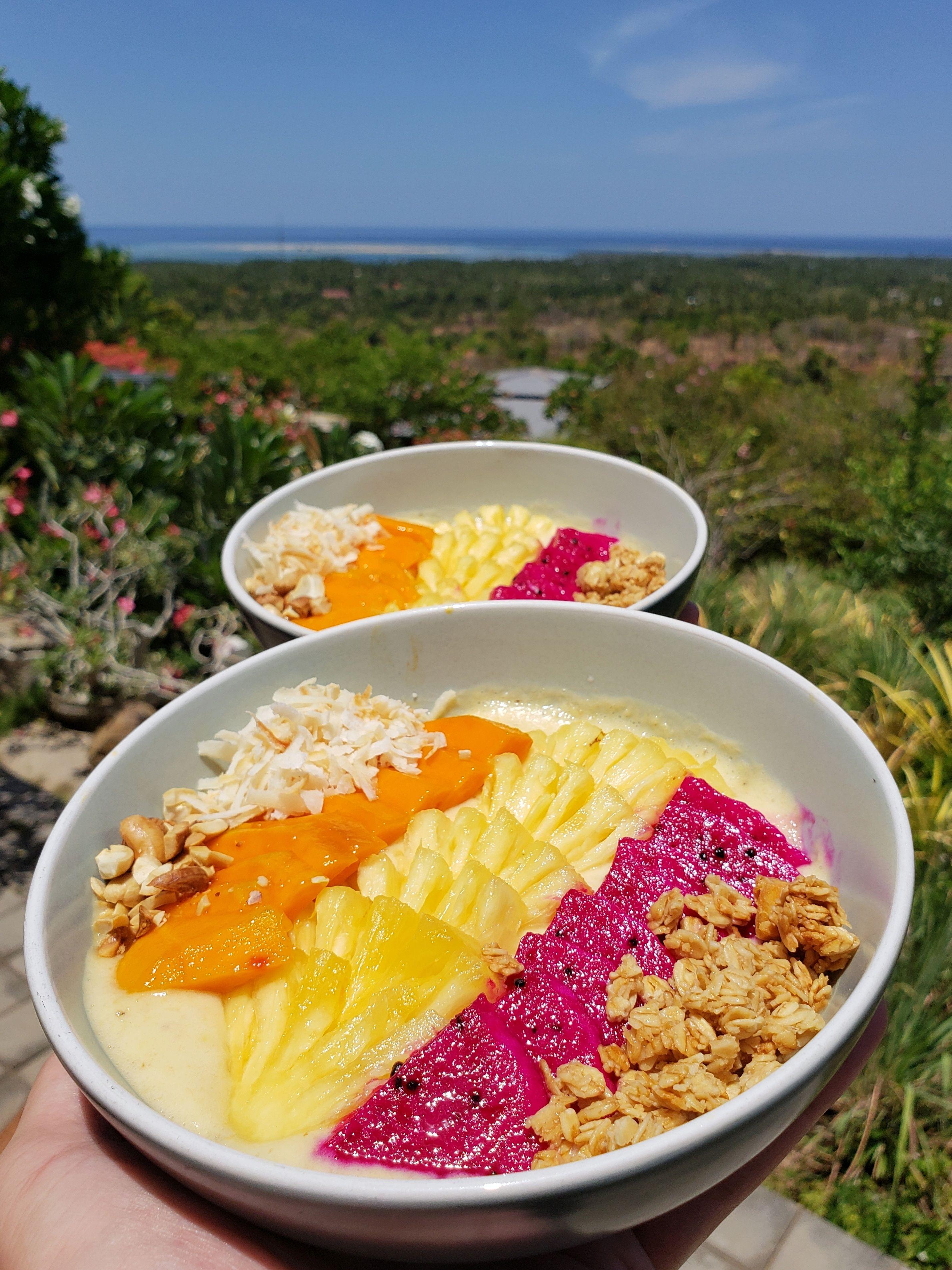 fruit bowl in 2020 fresh smoothies smoothie bowl fresh fruit bowl pinterest