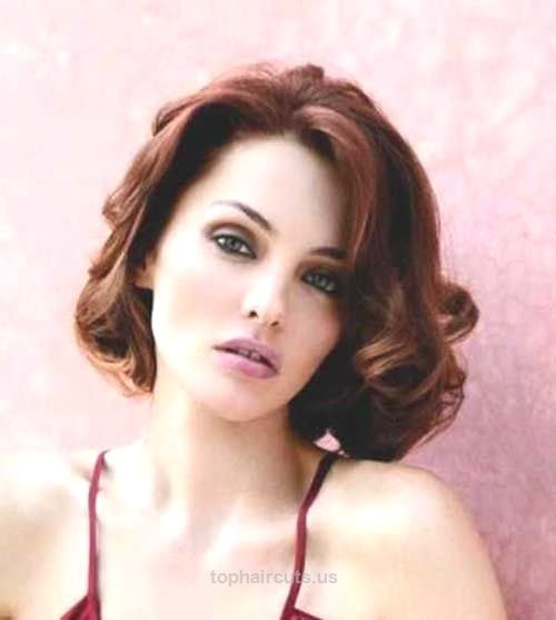 Short Curly Hairstyles 2015 15 Latest Short Curly Hairstyles For Oval Faces  Short Hairstyles