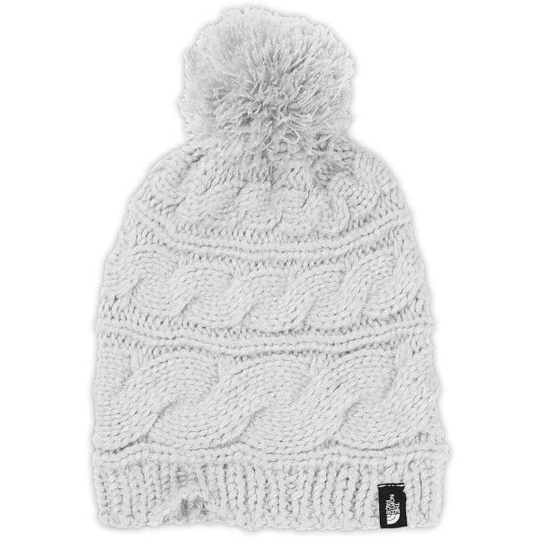 The North Face Women s Triple Cable Pom Beanie ( 30) ❤ liked on Polyvore  featuring accessories fc04e3518c