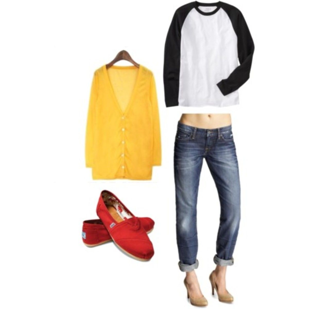 4 Easy and Chic Lazy Day Outfits images