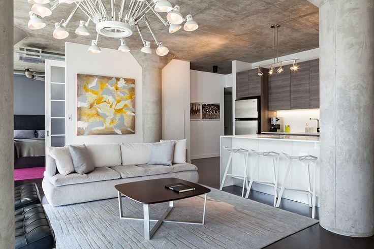 Бетон в интерьере дома - доступный, экологичный, практичный и стильный материал. Варианты использования бетона в современных интерьерах