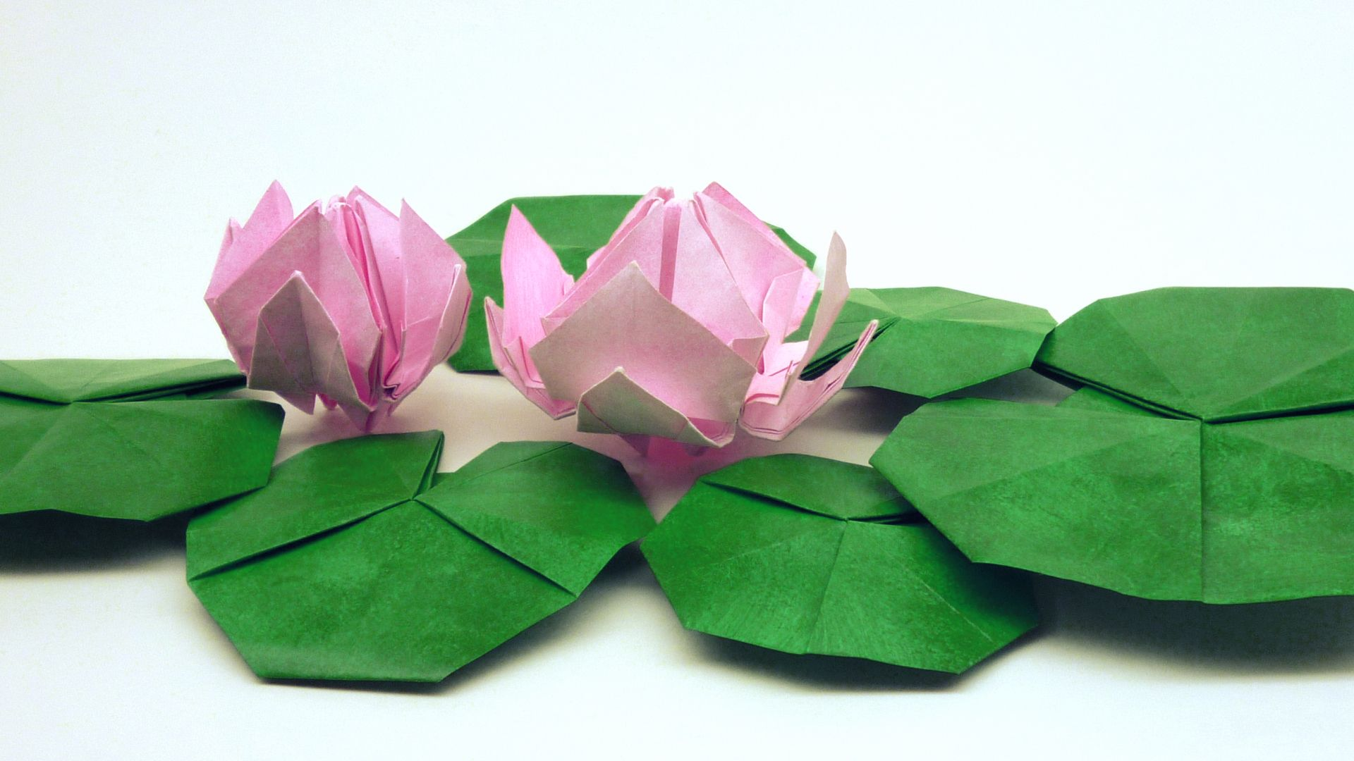 How to make your own Origami water lily - YouTube | 1080x1920