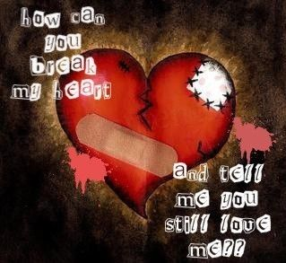 Love Images How Can U Brake My Heart And Say I Me Wallpaper Background