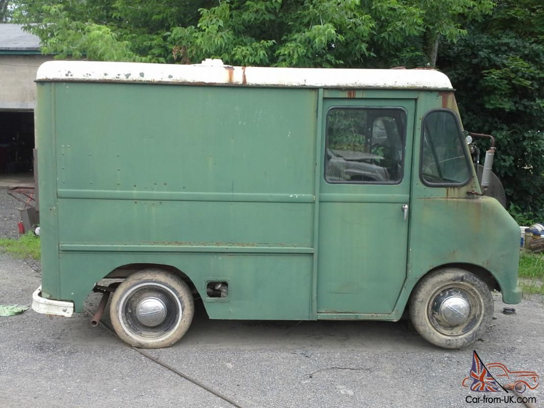 1963 International Harvester Metro Mite Step Van Commercial Vehicle Work Truck
