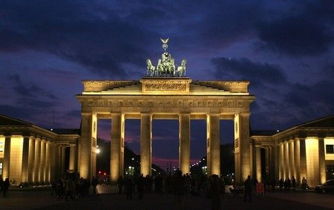 Dast Ist Berlin Germany Brandenburg Gate Places To Travel