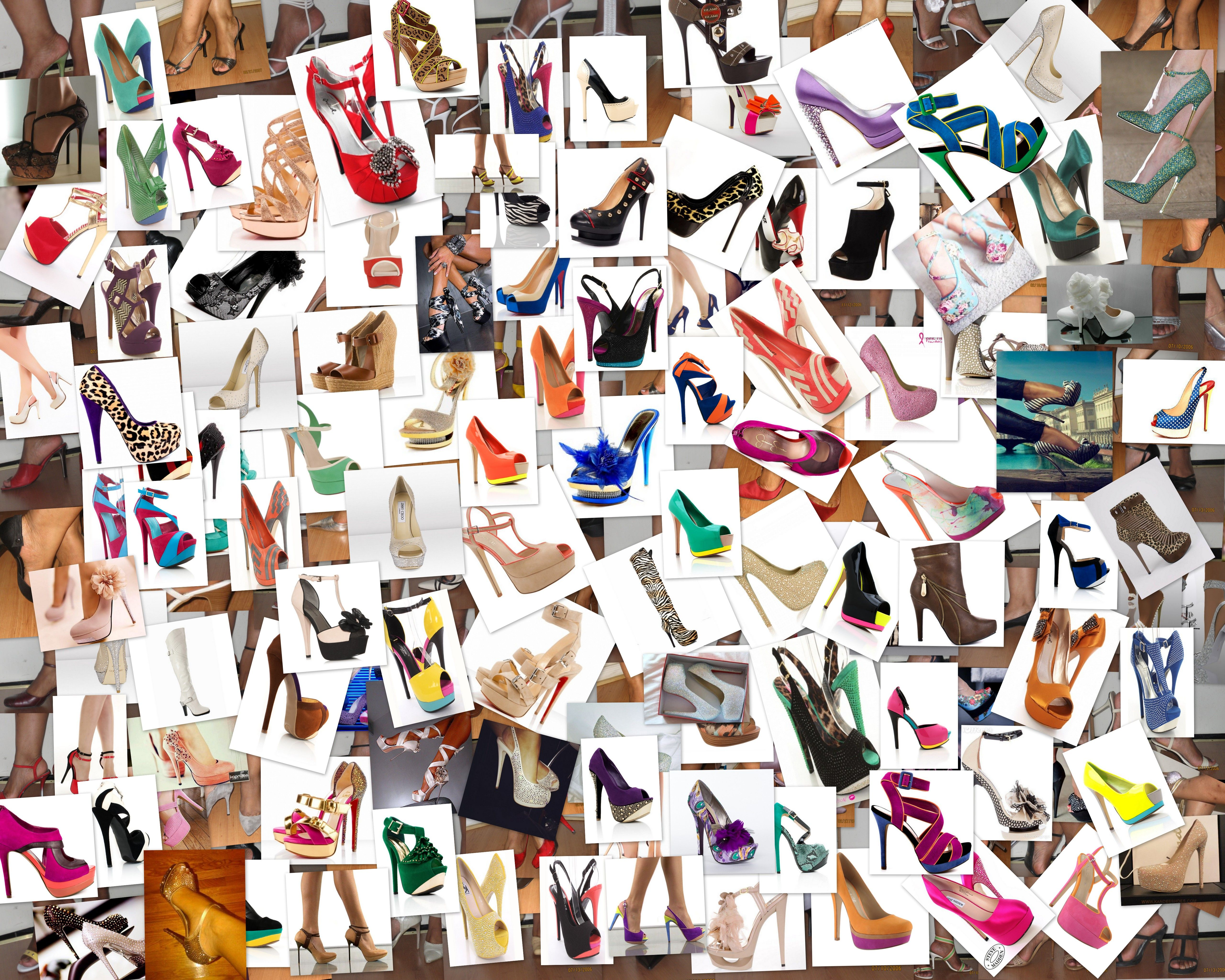 shoe collage shoes pinterest collage and shoe art