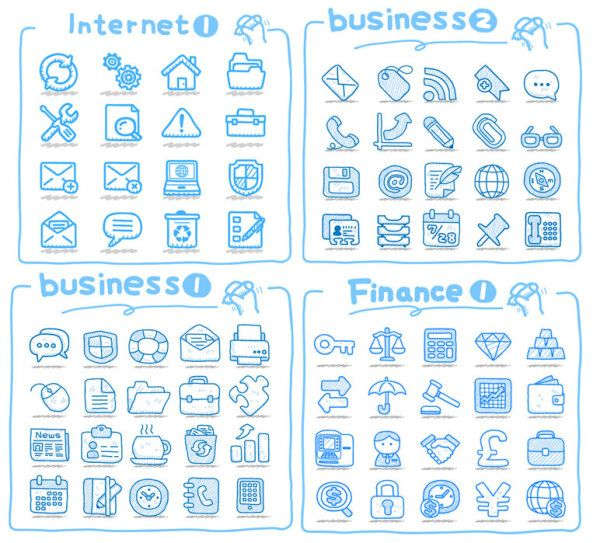 Line Art Icons Vector Material Vector Icons Free Vector Free Art Icon