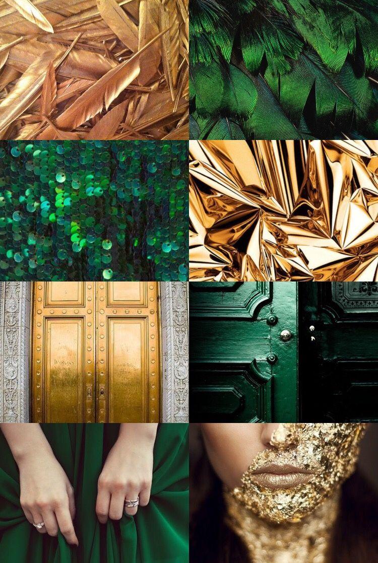 Dwarves non gender emerald gold aesthetic 12 gold