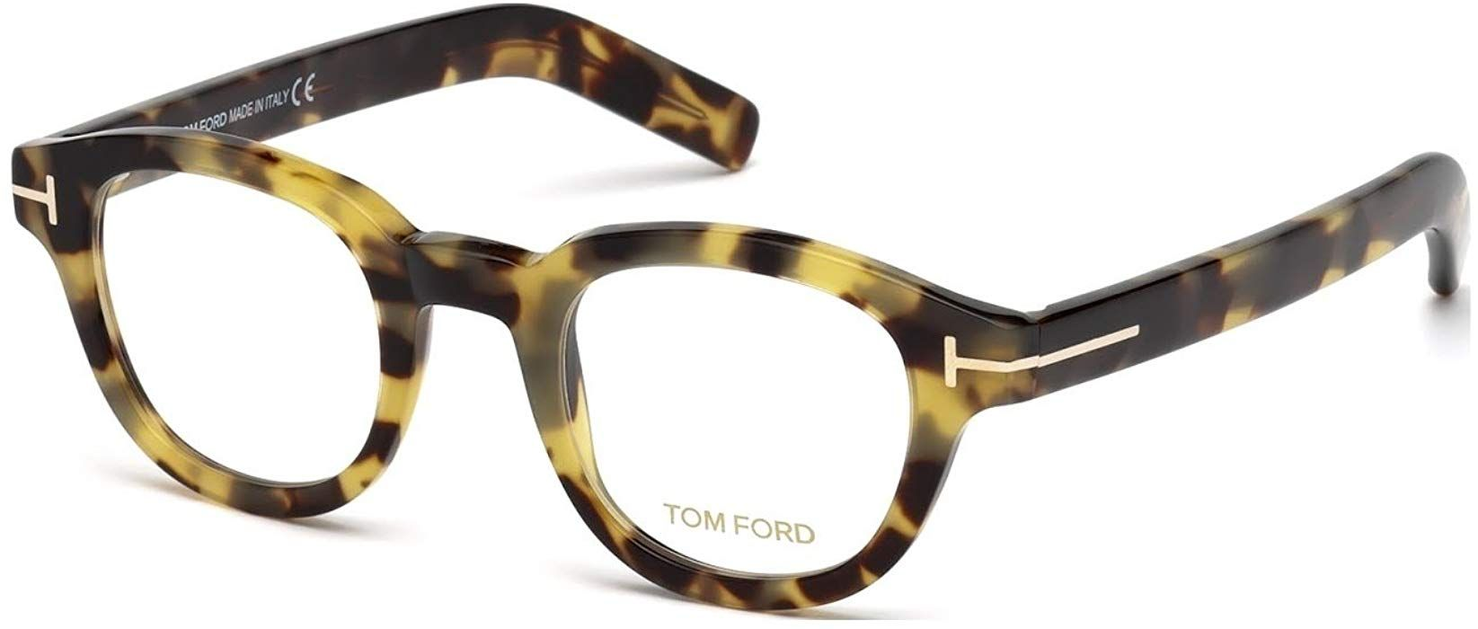4ea2e31c0f Eyeglasses Tom Ford FT 5429 055 coloured havana at Amazon Men s Clothing  store