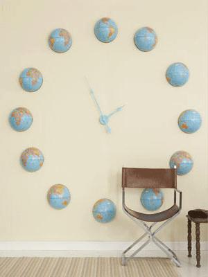 åpent hus: Veggdekor til barnerommet- sundial