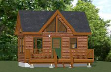 20x10 Tiny House -- 266 sq ft -- PDF Floor Plan -- Model 1