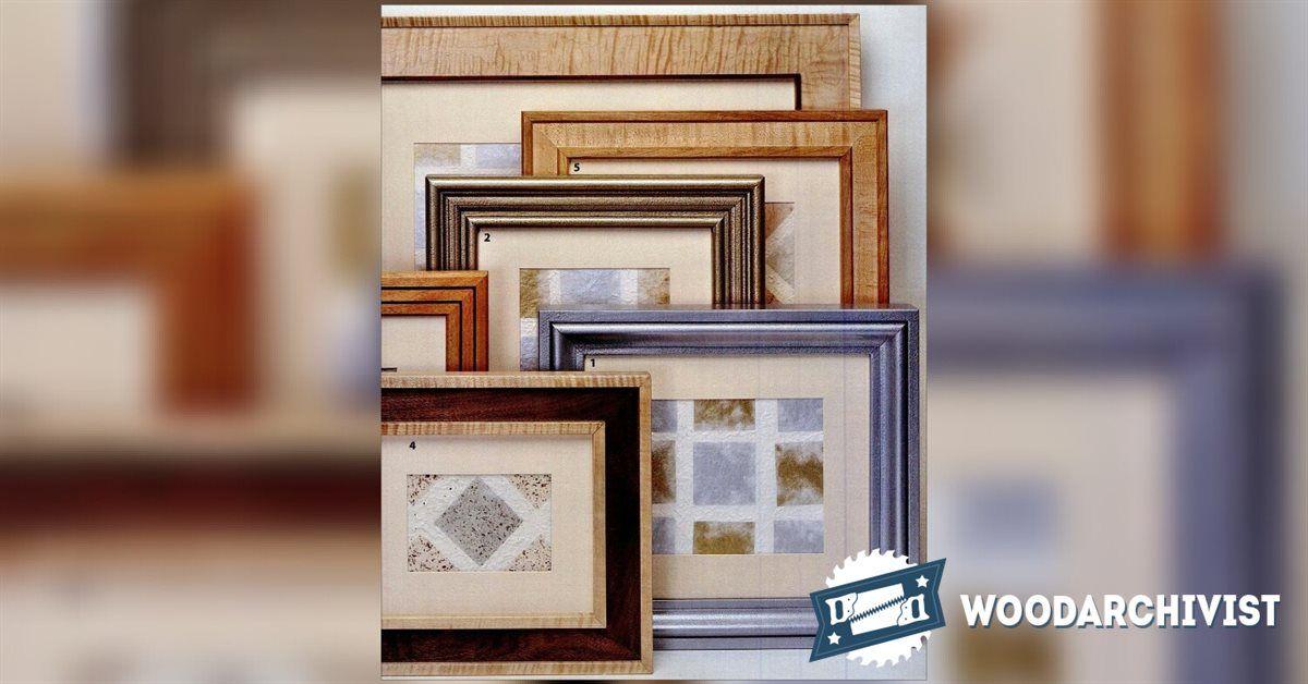 Building Picture Frames