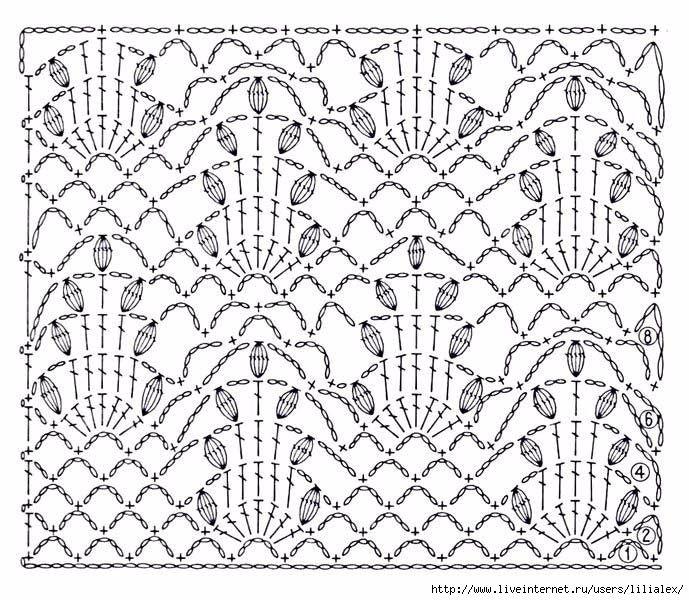 Pin de Florencia en Crochet | Pinterest | Puntadas, Ganchillo y ...