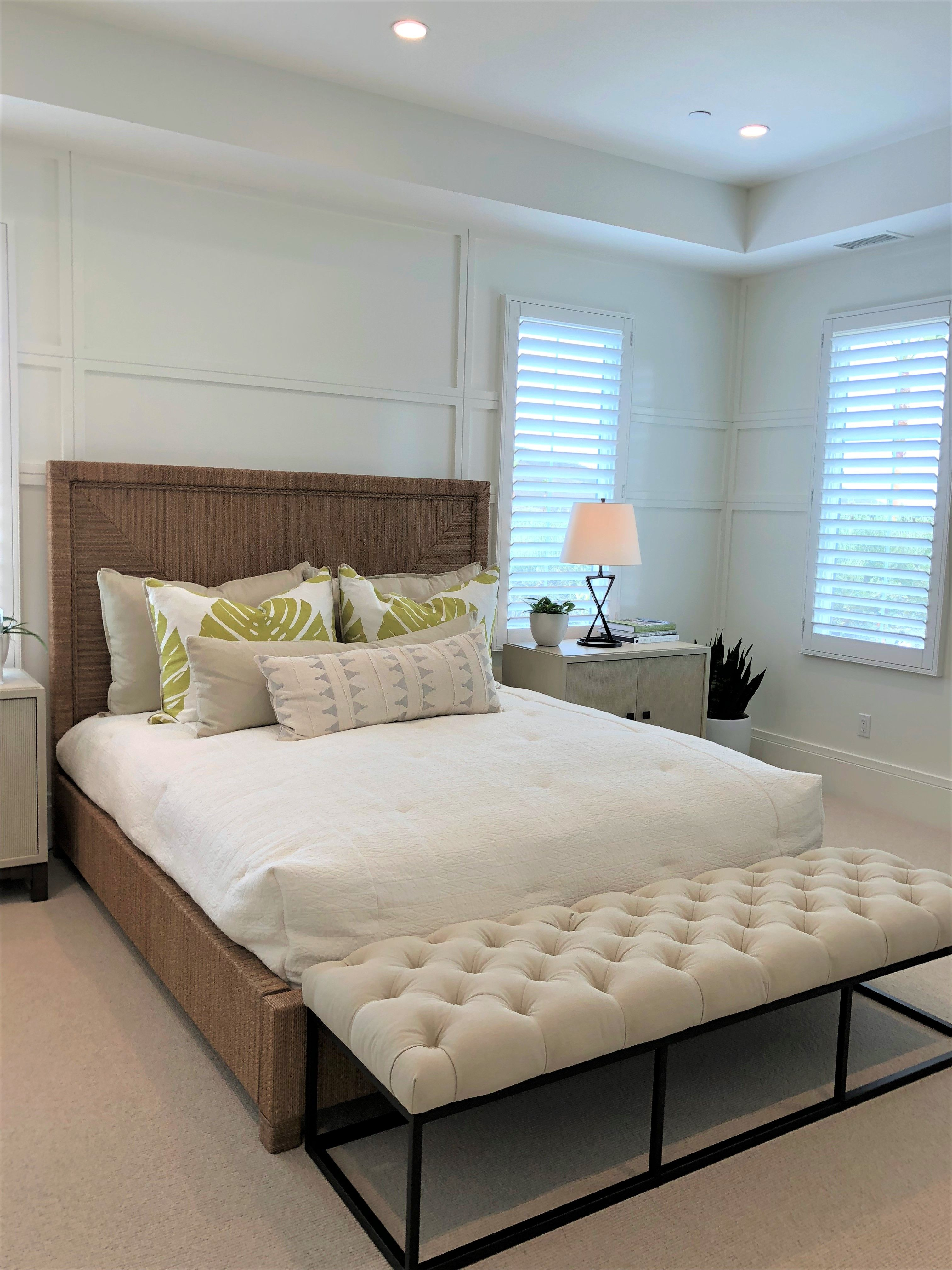 Beautiful Neutral Bedrooms At Barcelona At Los Olivos Village #Irvinepacific
