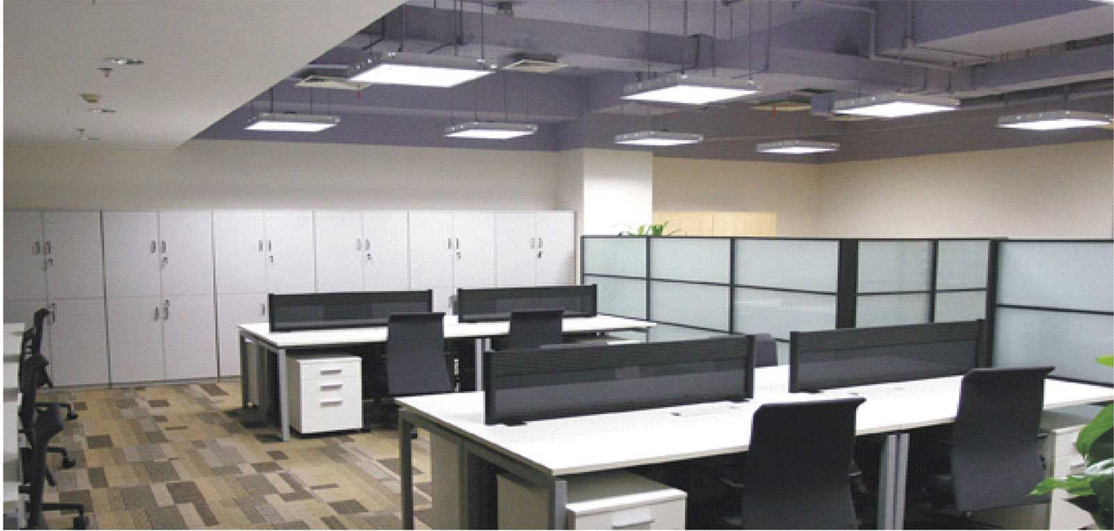 Corporate Office Design Ideas these glass walled workrooms provide personal space without feeling stifled or claustrophobic Corporate Office Lightning Design Ideas