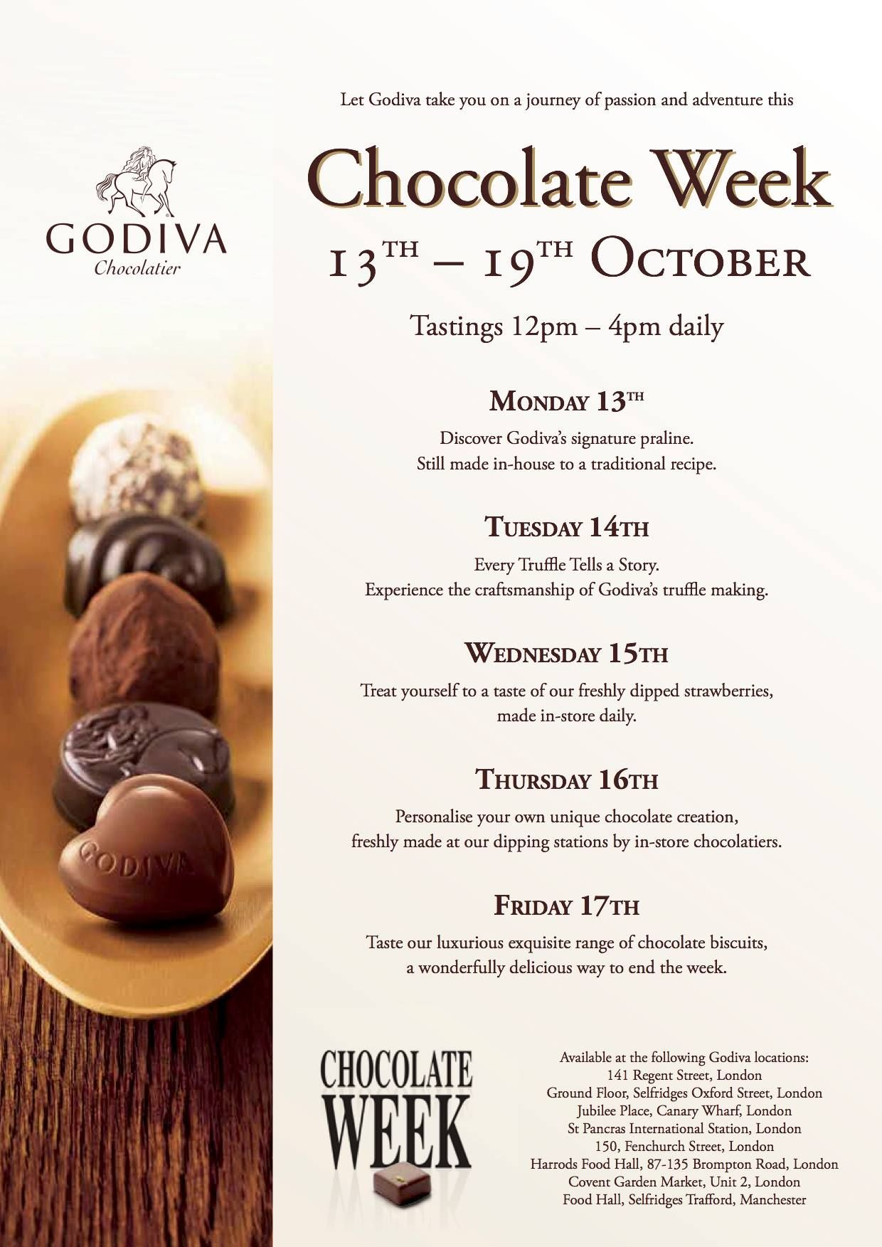 Let Godiva Take You On A Journey Of Passion And Adventure