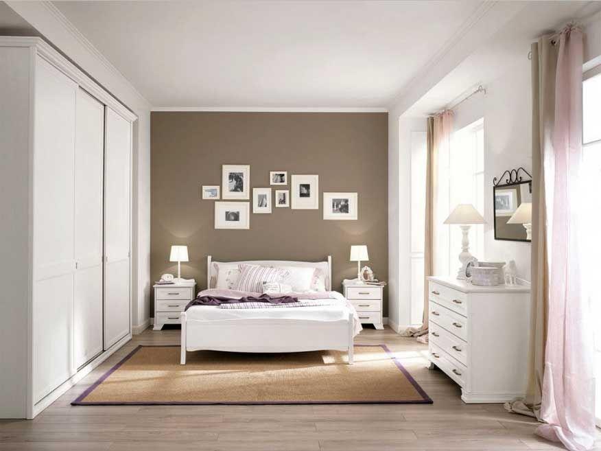 Schlafzimmer Braun Weiß Ideen