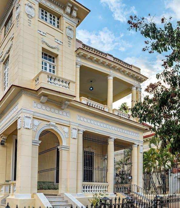 PalacetedelVedado Villas en alquiler en Vedado La