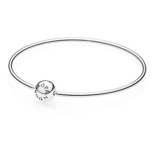 8a64a8a72 Pandora authentic #silver 925 Essence #bangle bracelet 596006-19 #Womans  7.5