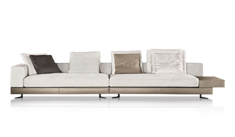 White Sofa By Minotti On Ecc Sofa Styling Sofa Design Sofa Furniture