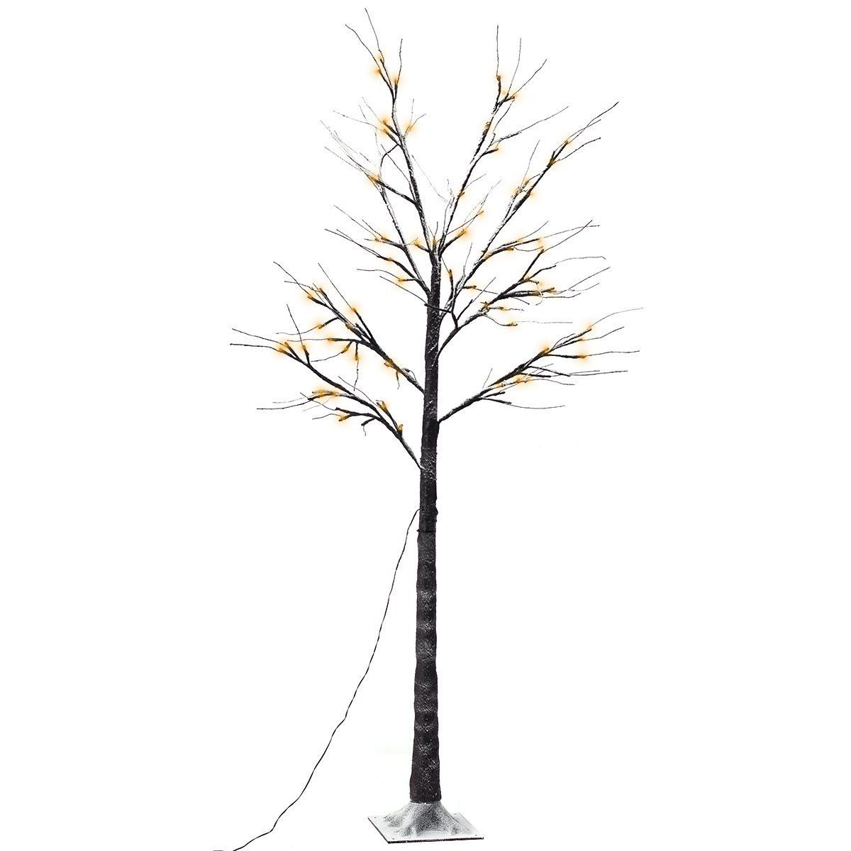 Goplus Decorative Birch Tree Lights Brown Led Warm White