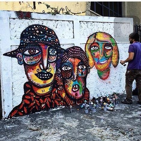 Guilherme Kramer Artwork in Moóca, São Paulo , Brazil, 2016