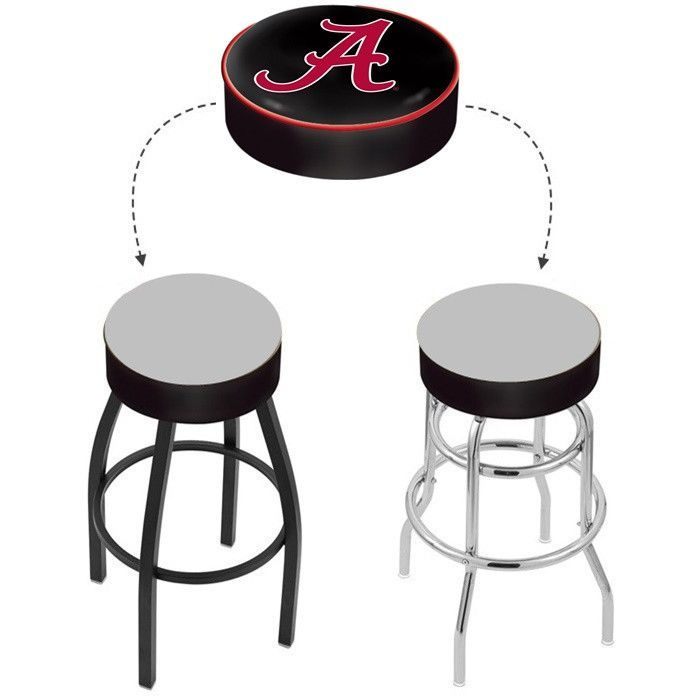 "Alabama Crimson Tide ""A"" Bar Stool Seat Cover"