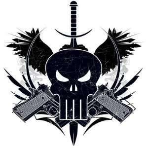 The punisher skull with guns punisher skull shooting d the punisher skull with guns punisher skull shooting d marvel extreme punisher publicscrutiny Gallery
