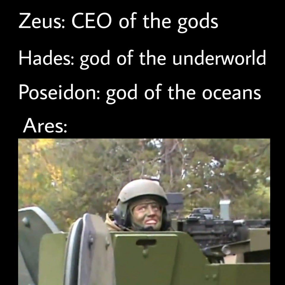 Greek God Memes From The Pits Of Reddit